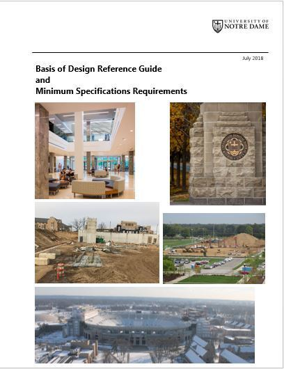 Basis Of Design Reference Guide And Minimum Specifications Requirements