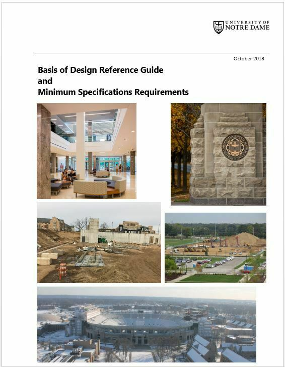 Basis of Design Reference Guide October 2018