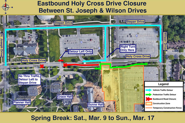 Eastbound Road Closure Web