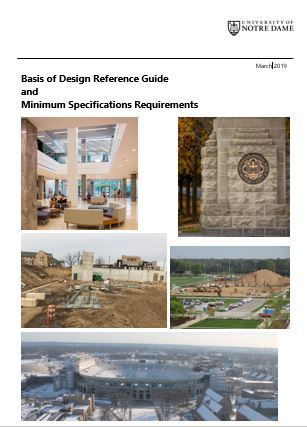 Basis of Design Reference Guide and Minimum Specifications Requirements March 2019